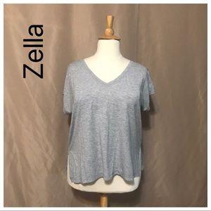 Zella XL short sleeve T-shirt gray